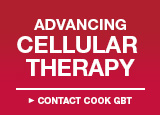Advancing Cellular Therapy - Contact Cook GBT