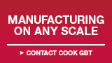 Manuafacturing on Any Scale - Contact Cook GBT