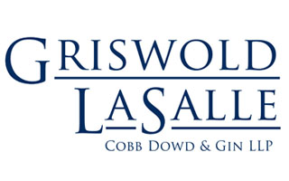 Logo for FAST Member Benefit at Griswold LaSalle Cobb Dowd & Gin, LLP - FAST Members get 10% off their consultation fee.