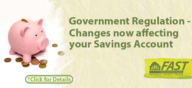 Change Now Affecting Your Savings Accounts