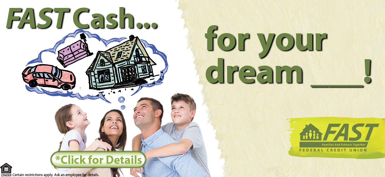 We have FAST cash for your dream! What do you dream about? Do you dream about buying a new home or remodeling? Or new pool for those hot summer days?Buying a car, truck or SUV? Paying for education?Do you dream about buying a boat or other recreational vehicle? The list goes on!