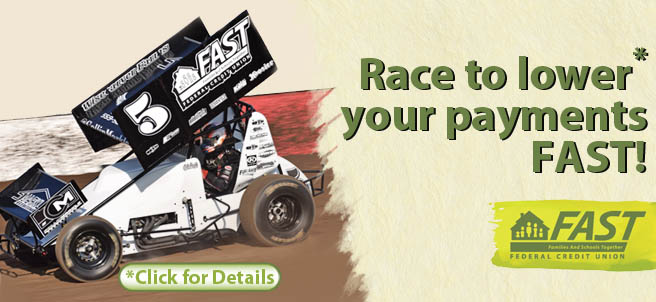 Race to lower your payments FAST! Click here for more details.