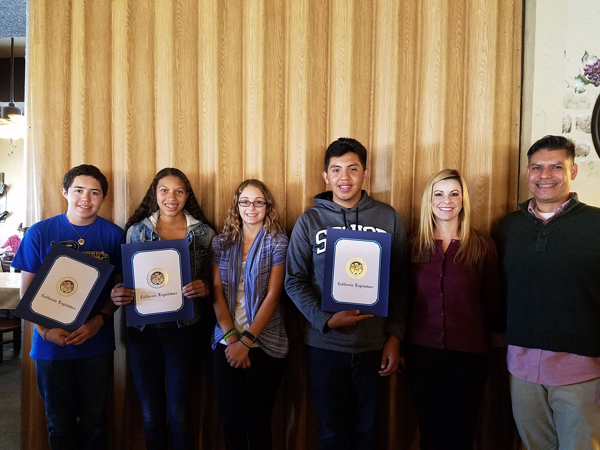 Lemoore Students of the Month