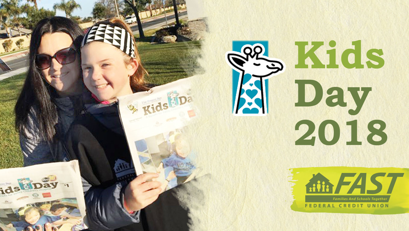 Every year FAST sells newspapers for Kids Day - a benefit for Valley Children's Hospital. This year we raised almost $1,000!