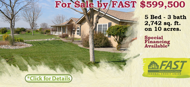 FAST Home for Sale