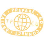 TFCU prepare, go, connect, arrive stamp