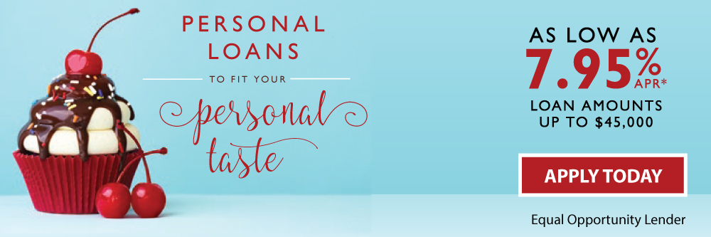Get a TFCU Personal Loan to fit your taste