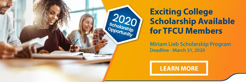 2020 Miriam Lieb Scholarship