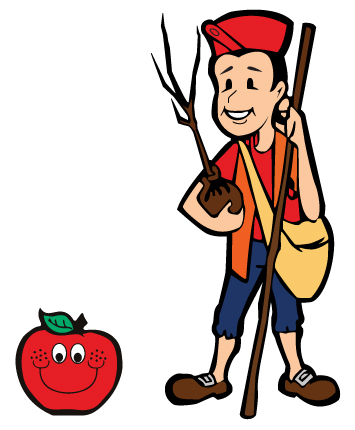 Join the Johnny Appleseed Club.