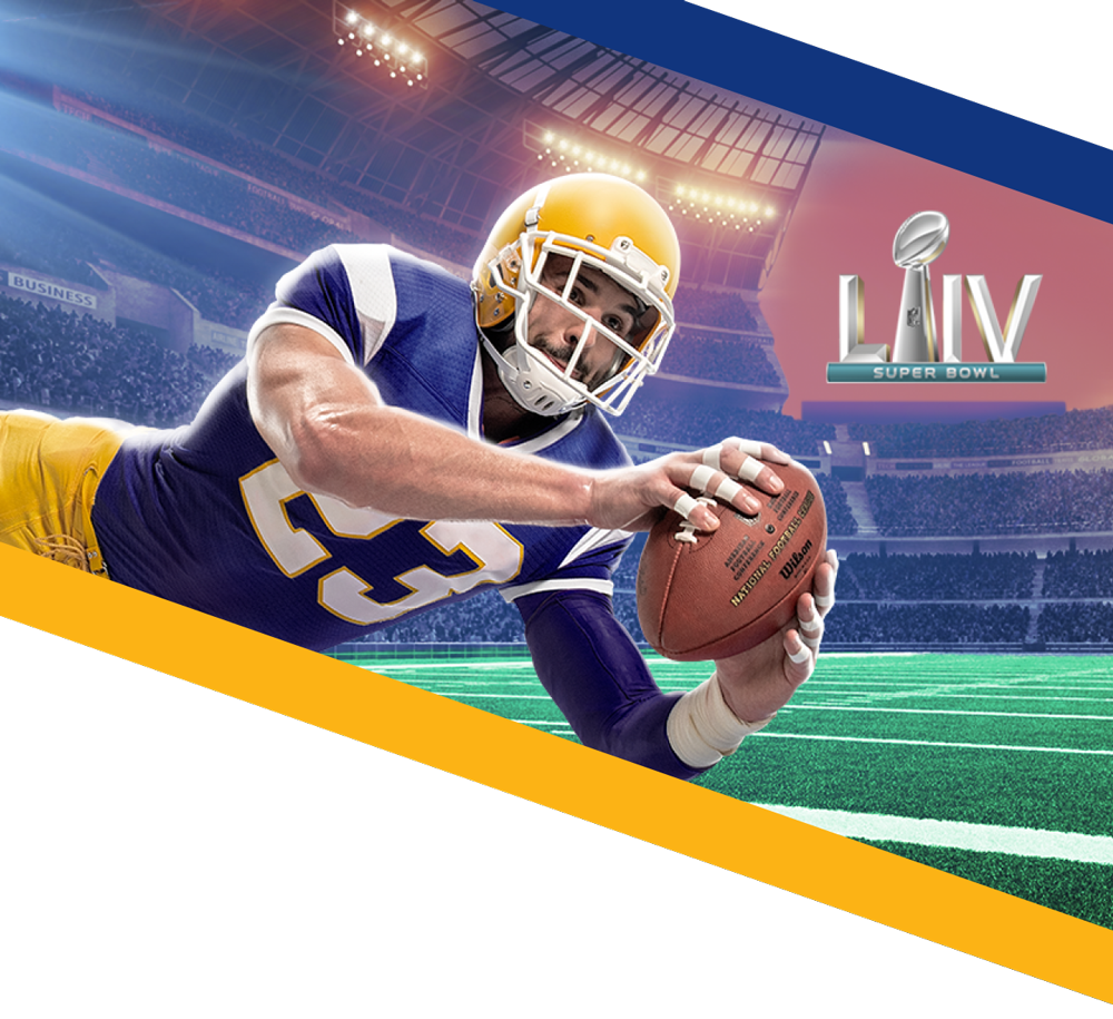 Pay with your TFCU Visa for a chance to win Super Bowl LIV tickets and much more.