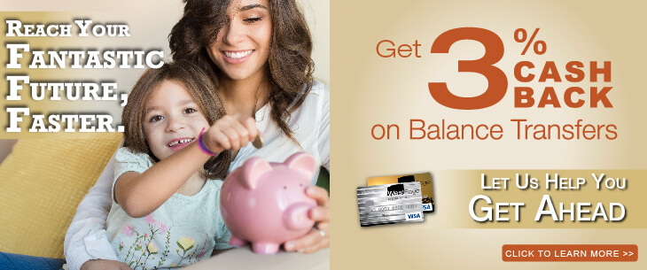 Get 3% Cash Back on Credit Card Balance Transfers