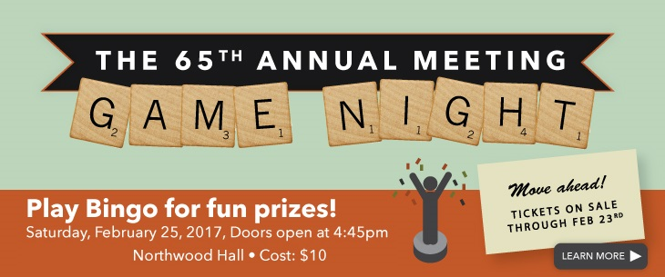 The WestEdge 65th Annual Meeting: Game Night