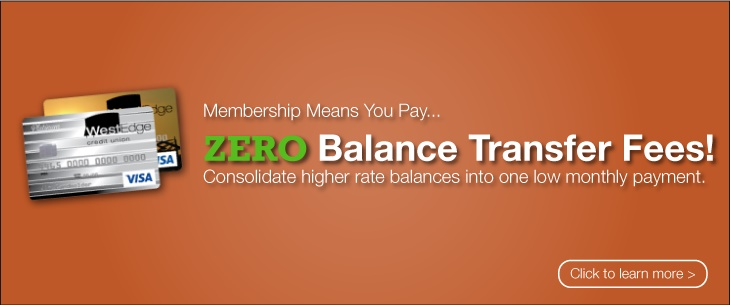 Visa Credit Cards: ZERO Balance Transfer Fees!