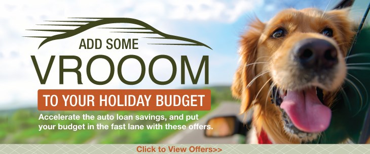 Add some VROOM to your Holiday Budget!