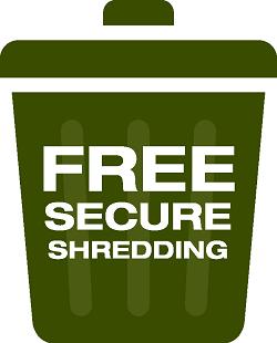 Free Secure Shredding