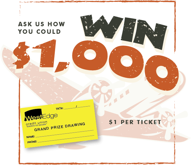 Ask Us How You Could WIN $1,000