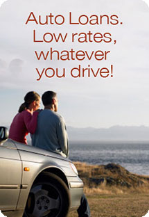 Low Rates on Auto Loans, whatever you drive